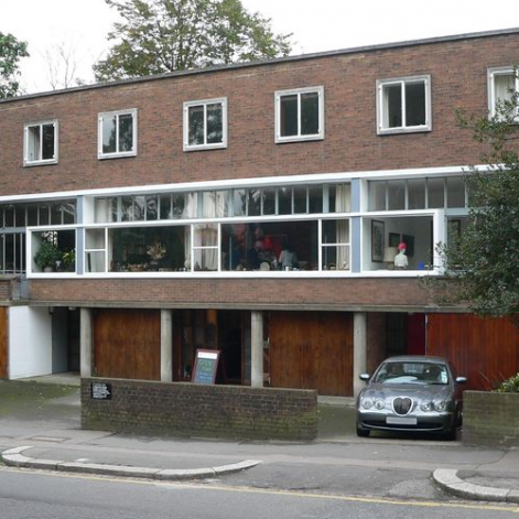 Goldfinger's House at 1-3 Willow Road, Hampstead