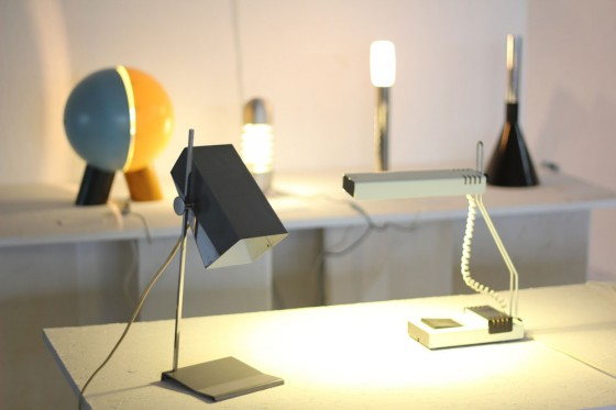 Josef Hurka table lamp, 1963. Photo courtesy of Okolo